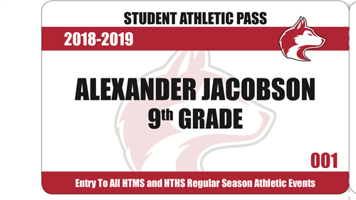 Athletic Pass Card