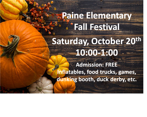 Paine Elementary Fall Festival